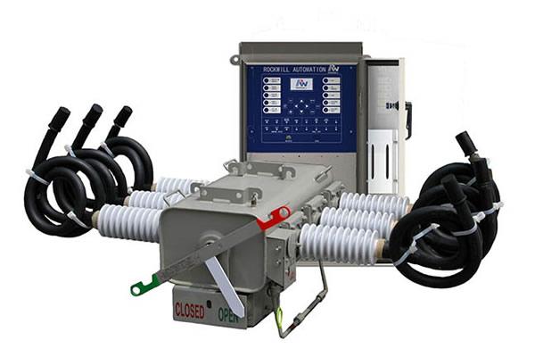 LBS/Seccionalizador aislado de gas