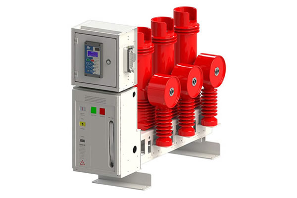 Indoor fixed lateral type vacuum circuit breaker