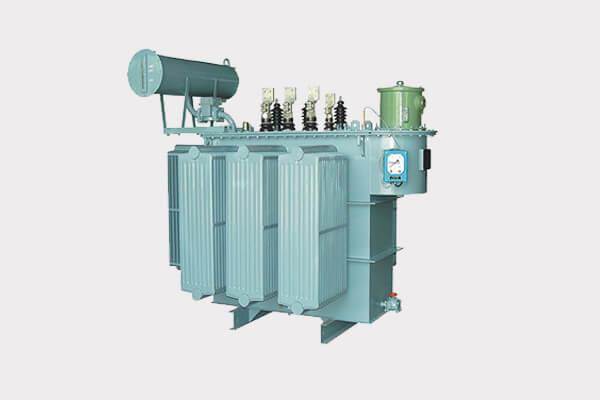 en transformador de distribución de energía de carga