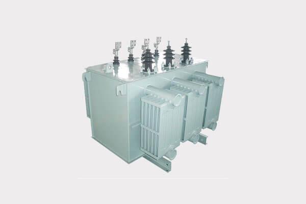 Transformador de distribución con bobina amorfa de baja pérdida
