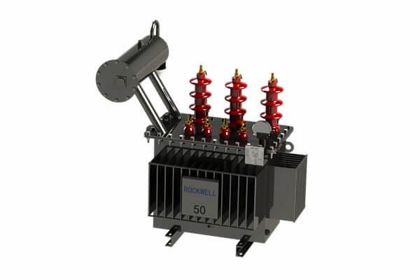 Transformadores de distribución sumergidos en aceite de 11 kV 50 kVA