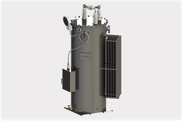regulador de voltaje escalonado monofásico de subestación