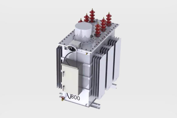 Subestación Regulador de voltaje escalonado trifásico