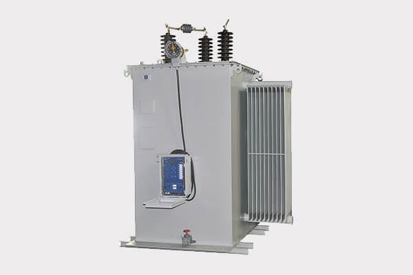 Regulador de voltaje escalonado Monofásico para Subestación