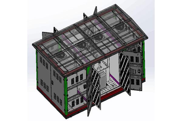 Subestación Compacta de 3.3kV hasta 52kV