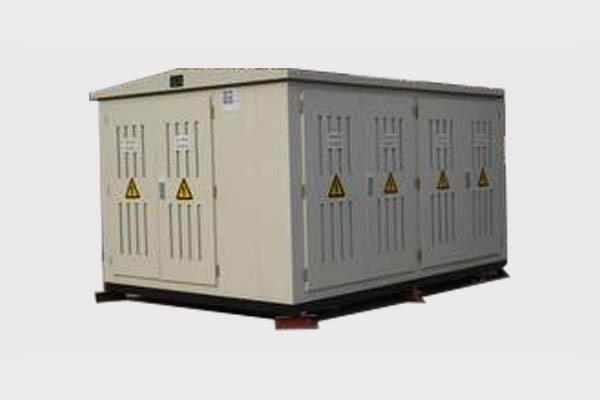 Subestación en contenedores