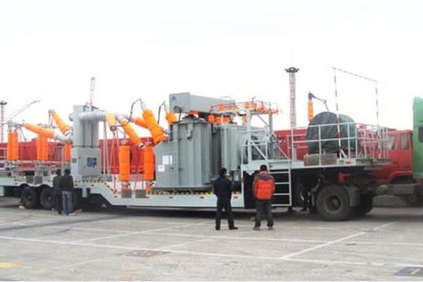Subestación Transformer Móvil