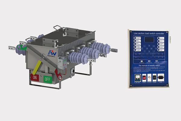 Controlador de interruptor de rotura de carga RWK-381 SF6