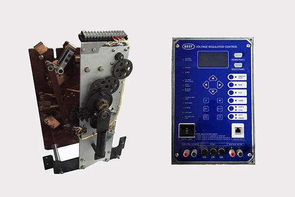 Activado el cambiador de grifo de carga con el control del regulador de voltaje