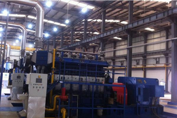 Solución de planta de energía de combustible dual