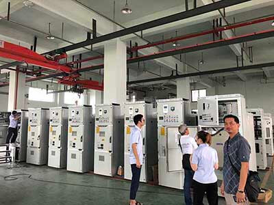 Rockwill Metal Cald Switchgear Factory