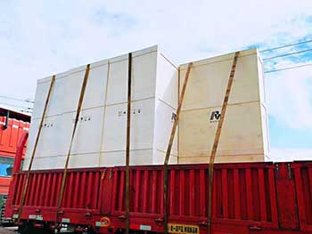 The first lot MV switchgear go to service for Korea