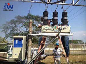 ANSI/IEEE C37.60 Auto Recloser estándar en Venezuela