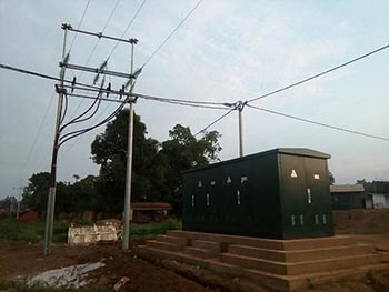 Rockwill's substation was completed in congo and run well