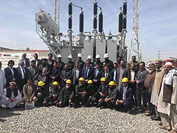 110kV substation completed in Afghanistan