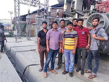 Bangladesh Turnkey Substation project completed successfully